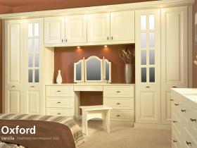 Oxford - Vanilla - Traditional Vinyl Wrapped Door