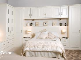 Cashel - Ivory - Traditional Vinyl Wrapped Door