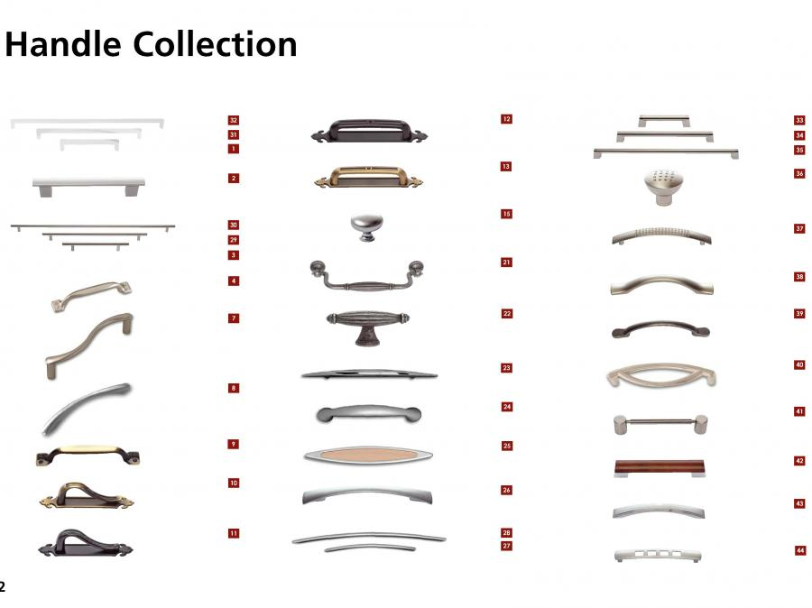 Bedroom Handle Collection (1 of 2)