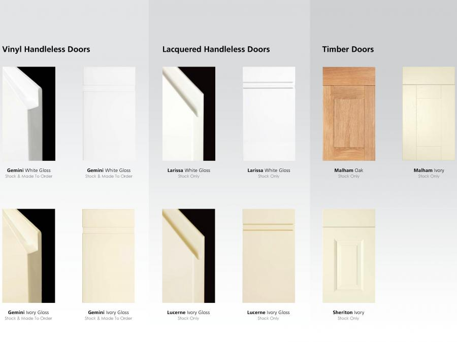 Stock Door Options (2 of 2)